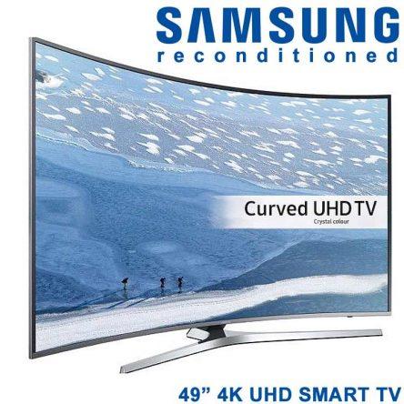 Samsung 49″ Curved 4K UHD/HDR Smart TV