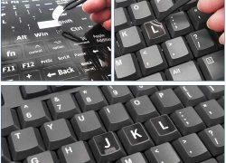 UK Keyboard Sticker Pack